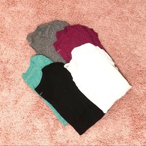 Lot of 5 XXL Maternity T-shirts